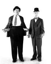 This is an image of Prints & Posters of Laurel and Hardy 104344