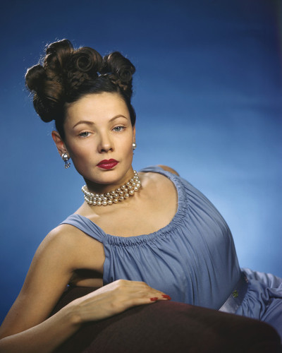 This is an image of Prints & Posters of Gene Tierney 202163