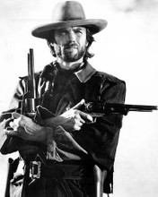 This is an image of 11907 Clint Eastwood Photograph & Poster