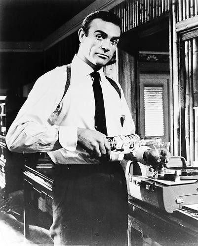 This is an image of 12393 Sean Connery Photograph & Poster