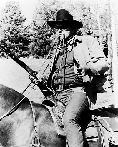 This is an image of 12646 John Wayne Photograph & Poster