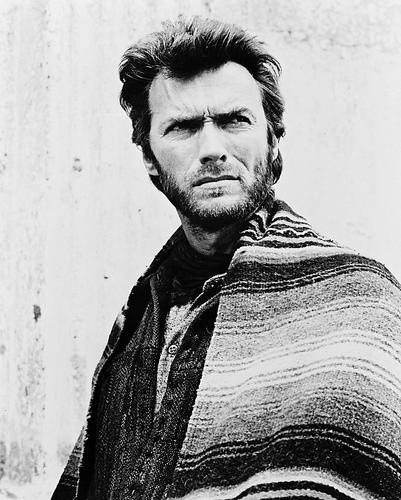 This is an image of 12678 Clint Eastwood Photograph & Poster