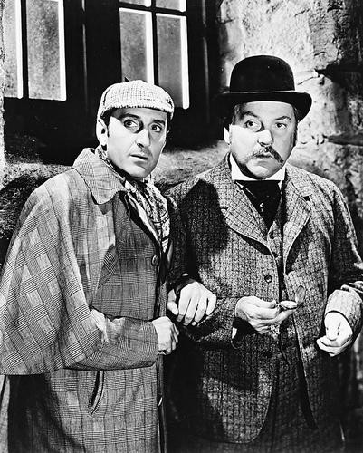 This is an image of 12921 Sherlock Holmes Photograph & Poster
