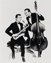 This is an image of 13462 Jack Lemmon & Tony Curtis Photograph & Poster