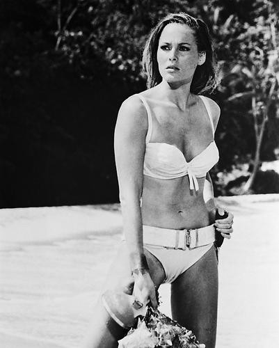 This is an image of 14255 Ursula Andress Photograph & Poster