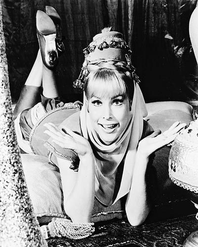 This is an image of 14850 Barbara Eden Photograph & Poster