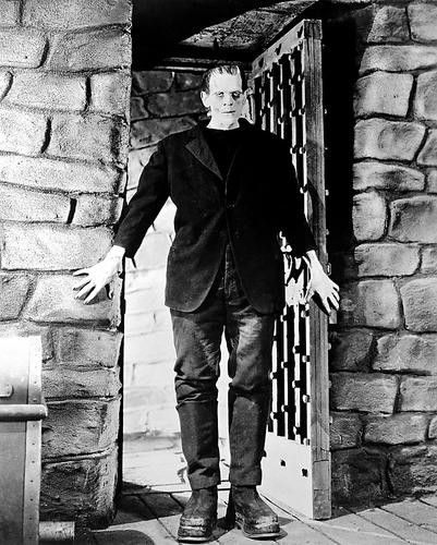 This is an image of 14906 Boris Karloff Photograph & Poster