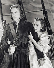 This is an image of 15662 Errol Flynn & Olivia De Havilland Photograph & Poster