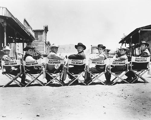 This is an image of 16403 The Magnificent Seven Photograph & Poster