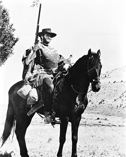 This is an image of 17563 Clint Eastwood Photograph & Poster