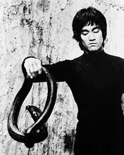 This is an image of 17930 Bruce Lee Photograph & Poster
