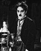 This is an image of 18152 Charlie Chaplin Photograph & Poster