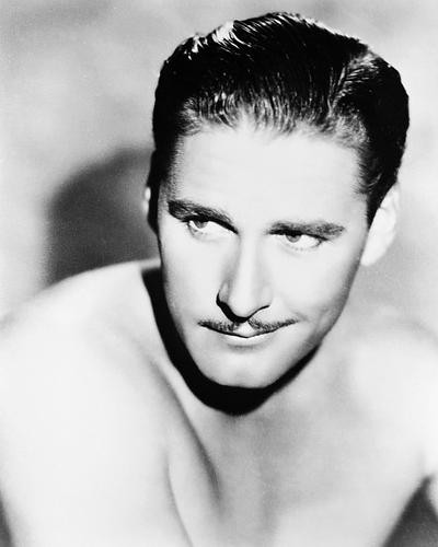 This is an image of 18971 Errol Flynn Photograph & Poster