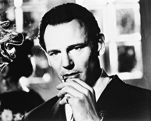 This is an image of 19508 Liam Neeson Photograph & Poster