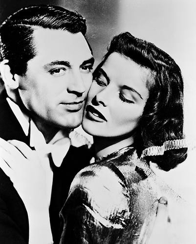 This is an image of 19642 Cary Grant & Katharine Hepburn Photograph & Poster