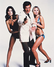 This is an image of 21239 Roger Moore Photograph & Poster