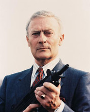 This is an image of 21251 Edward Woodward Photograph & Poster