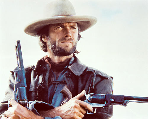 This is an image of 21892 Clint Eastwood Photograph & Poster