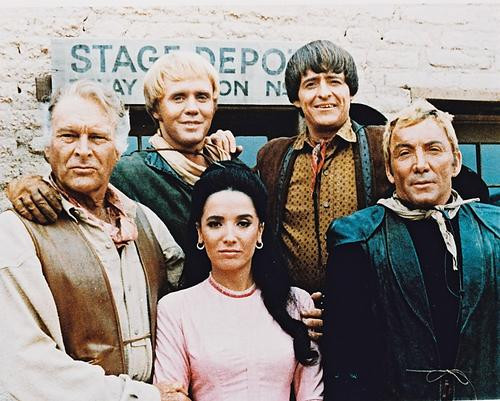 This is an image of 22534 The High Chaparral Photograph & Poster