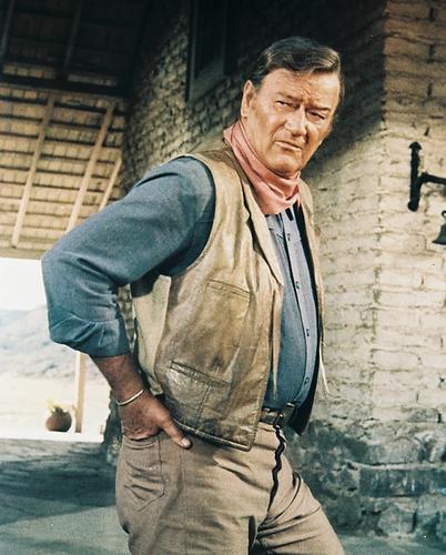 This is an image of 23382 John Wayne Photograph & Poster