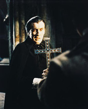 This is an image of 24803 Christopher Lee Photograph & Poster