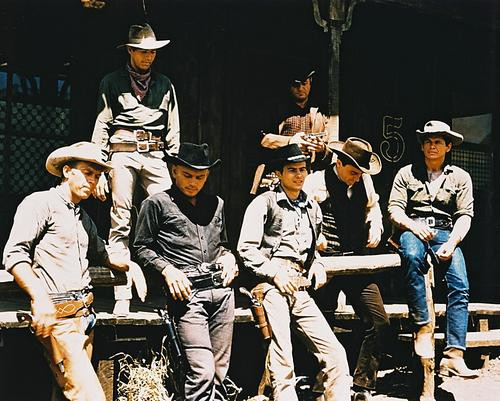 This is an image of 25113 The Magnificent Seven Photograph & Poster