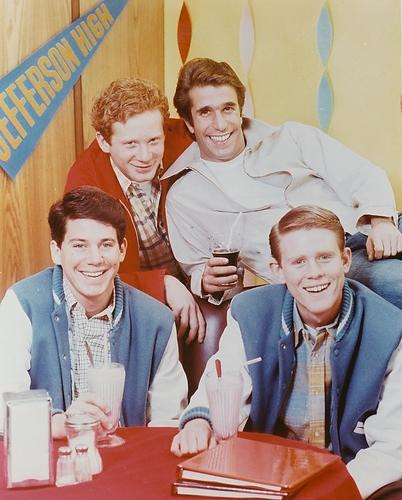 This is an image of 25780 Happy Days Photograph & Poster