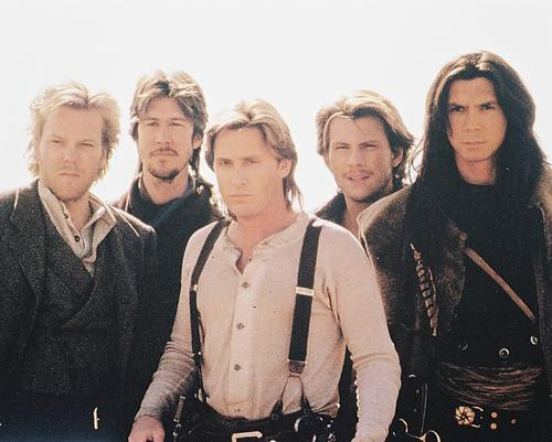 This is an image of 26157 Young Guns Ii Photograph & Poster