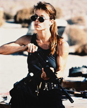 This is an image of 26643 Linda Hamilton Photograph & Poster
