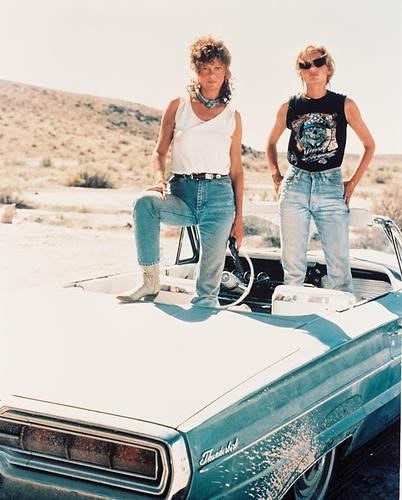 This is an image of 27667 Thelma and Louise Photograph & Poster