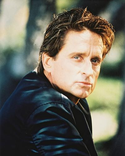 This is an image of 27673 Michael Douglas Photograph & Poster