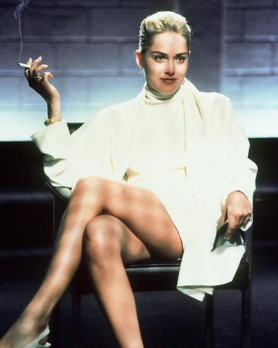 This is an image of 27792 Sharon Stone Photograph & Poster