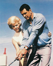 This is an image of 27980 Rock Hudson & Doris Day Photograph & Poster