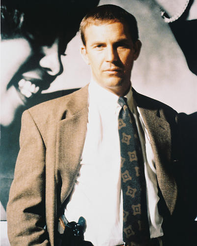 This is an image of 28527 Kevin Costner Photograph & Poster
