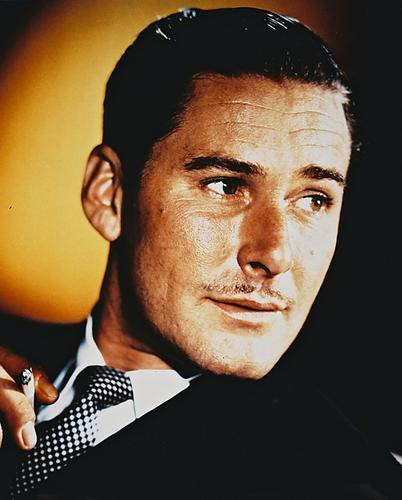 This is an image of 28556 Errol Flynn Photograph & Poster