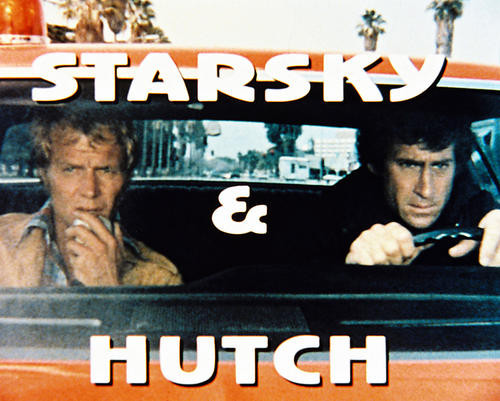 This is an image of 28644 Starsky and Hutch Photograph & Poster