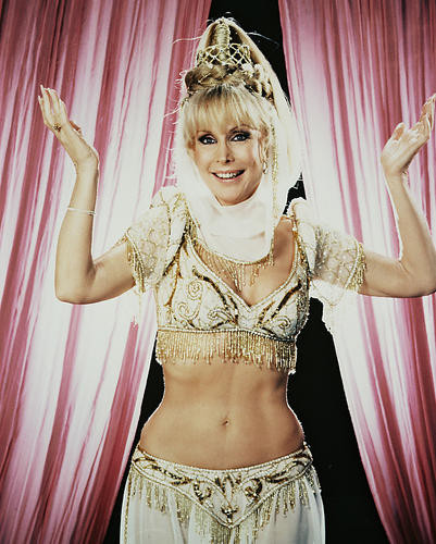This is an image of 28828 Barbara Eden Photograph & Poster