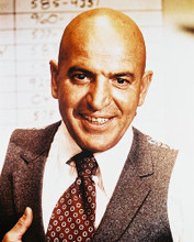This is an image of 29493 Telly Savalas Photograph & Poster