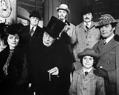 This is an image of 100084 Sherlock Holmes in New York Photograph & Poster