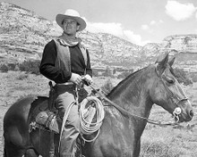 This is an image of 100296 John Wayne Photograph & Poster