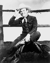 This is an image of 100299 Gene Autry Photograph & Poster