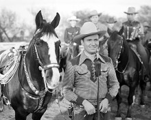 This is an image of 100416 Gene Autry Photograph & Poster