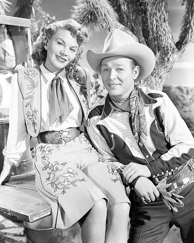 This is an image of 100420 Roy Rogers Photograph & Poster