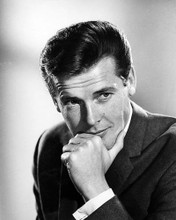 This is an image of 100483 Roger Moore Photograph & Poster