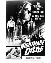 This is an image of Photograph & Poster of Nightmare Castle 102084