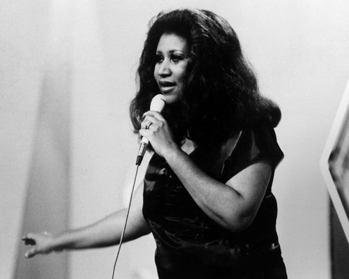 This is an image of Photograph & Poster of Aretha Franklin 102567