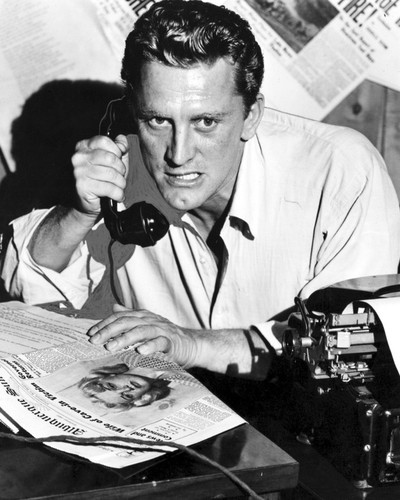 This is an image of Photograph & Poster of Kirk Douglas 102642
