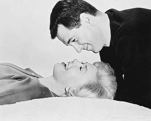 This is an image of 160373 Rock Hudson & Doris Day Photograph & Poster