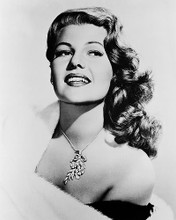This is an image of 160728 Rita Hayworth Photograph & Poster