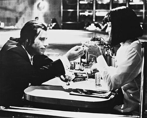 This is an image of 160936 Pulp Fiction Photograph & Poster
